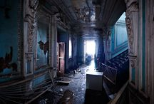 abandoned interier