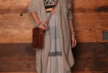 Closet - Maxi Dresses / Maxi dress outfit ideas for Fall and Winter