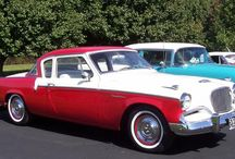 Studebakers / The first car I remember, and my dad owned mostly studebakers  until they went out of business. / by Jim Krotzman