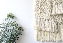 Woven wall & Macramé