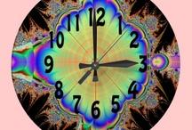 Colourful Clocks / Bright time