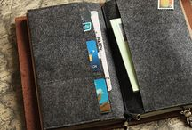 Travelers Journal / Midori or Dori journals also called traveler's notebooks and ideas for how to use them