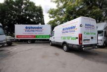 Stěhování - stěhovací vozy / Vozy na stěhování