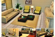 Home&Decor Secondlife / Cozy & Romantic Home Decor #secondlife #furnitures #mesh #lifestyle #design #ideas #decor