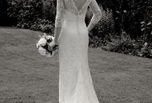 Beaded Lace Wedding Dresses with Low Backs / Beautiful low backs on lace wedding dresses