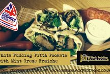 White Pudding / Recipes and ideas using White Pudding