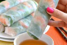 Mat/sushi og vårrull