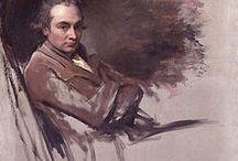 George Romney / George Romney (Dalton in Furness, 1734 – Kendal, 1802) apprezzato ritrattista a Londra fin dal 1762, nel 1773, insieme a Ozias Humphrey, si recò in Italia, ove strinse amicizia con Heinrich Füssli, e tornò nel Regno Unito solo nel 1775.