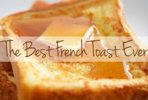 French Toast Recipes / How do you start the day with something extra sweet and satisfying? Two words: French toast! Whip up these quick and easy recipes for your weekend guests – only if you want them coming back for more! / by The Latin Kitchen