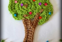 Applique & potholder  crohet / more crochet / by Yova Rasheva