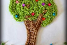 Crochet aplique
