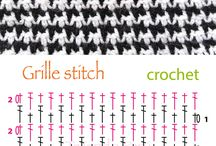 Crochet muestras / Puntadas crochet