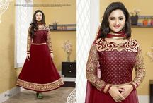 Rashmi Desai Anarkali Salwar Suits / Top:- 60 Gram Bottom:- Shantton Inner:- Shantton Dupatta:- Nazneen Size:- Up to 42 chest size Occison:- Party wear Work:- Pure embrodairy  Wash:- Dry Clean  Shipping Time:- Ready to ship Weight:- 1 kg
