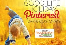 Moderation Nation Good Life Holiday Sweepstakes Sponsored by Hershey