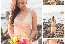 Beach Wedding Dress Inspiration 2015