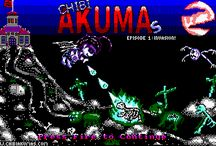 Chibi Akuma(s) Episode 1 - Reviews and Mentions! / Reviews of Chibi Akumas EP1 - Bullet Hell shooter, released 2017 for the Amstrad CPC