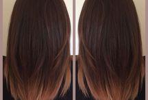 vlasy barva