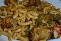 Pasta, arroz, cuscus y legumbres