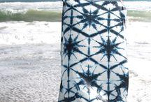 Inspiracje - Shibori & Barwienie tkanin