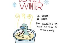 Chispum ♥ winter / winter - invierno - frio - cold - house - deco - ideas - decor - casa - hogar
