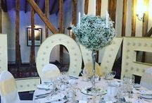 Stock Florist table centres