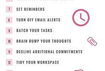 Helpful Work Tips
