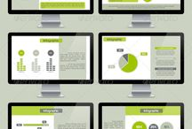 Microsoft Powerpoint / Articles and Info graphics on Powerpoint