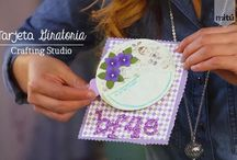 #CraftingStudio / Proyectos hechos dentro de la mini-serie CraftingStudio. DIY / Crafts / reciclaje / by Craftingeek