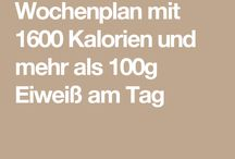 Diät 1600 kcal