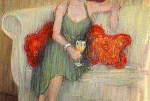 September McGee -  Arte Impressionista Americana
