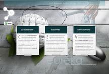 Web Design / Notre site web partenaire : - http://www.demenagementfrance.net/ / by Eurêka-webagency.com