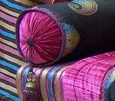 salon marocain / textil