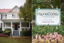 Payne Corley House Wedding Location