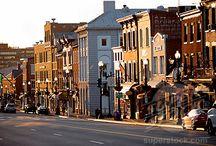 Georgetown / My kinda place.