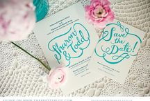 Weddings / Invites + Save the Dates / Inspiration for wedding invitations, save the dates, monograms and more! / by Laura Birney