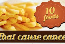 10 groups of foods causing cancer
