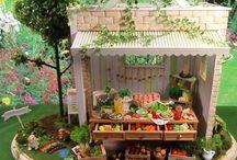 Miniature houses and stuff