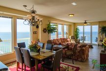Turtle Cay-Seychelles 1801, Panama City Beach, FL / Turtle Cay is an elegant 3 bedroom, 2 bathroom beachfront vacation rental condo located in Panama City Beach, FL. Emerald Beach Properties, Inc. manages this property for the owner. Call (850) 234-0997 to book today!