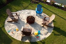 Backyard Makeover / by Hip to be a Square Quilting