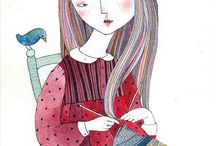 Knitting Girl...
