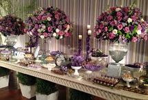 Purple & Cream Wedding