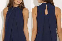 Блузки и платья