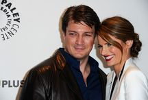 Nathan Fillion and Stana Katic (Castle)
