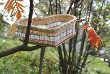 Košíky z pedigu / vlastnoručně upltené košíčky z pedigu