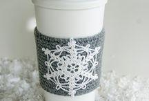Tea pot and mug cosies