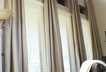 Curtains and other window treatments / by Jennifer Showers