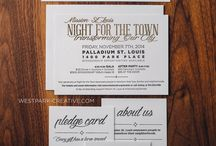 Letterpress Wedding Invitations / The best we have to offer. Samples of our favorite wedding invitations