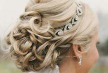 Wedding Hairstyle & Makeup