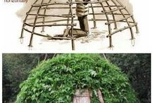 how to build a Survival shelteri