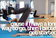 Fitness Quotes / by Sarah Walker